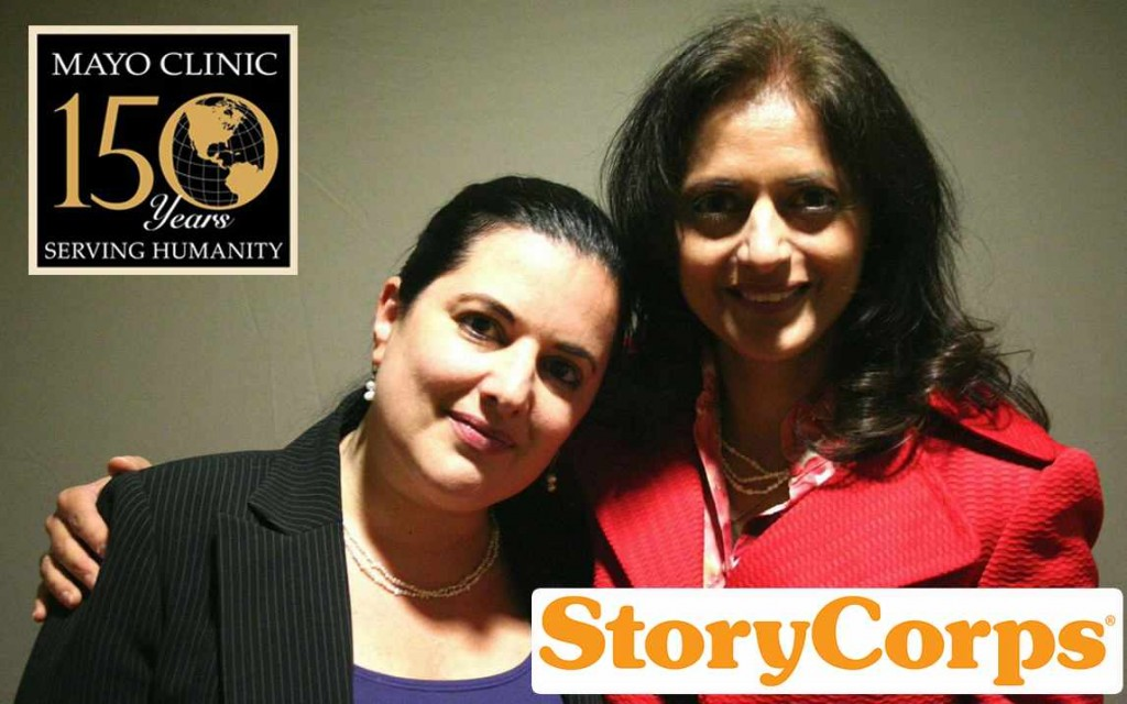 Nara with Dr. Pruthi - StoryCorps
