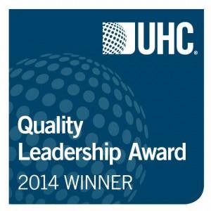 Quality leadership award logo-UHC