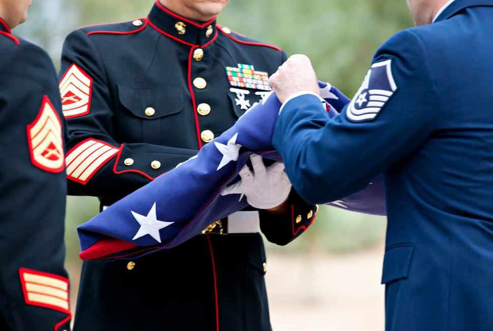Veteran's Day flag ceremony on Arizona campus
