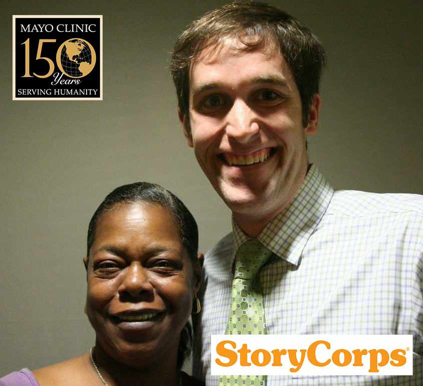 Bernita and Matt in StoryCorps photo
