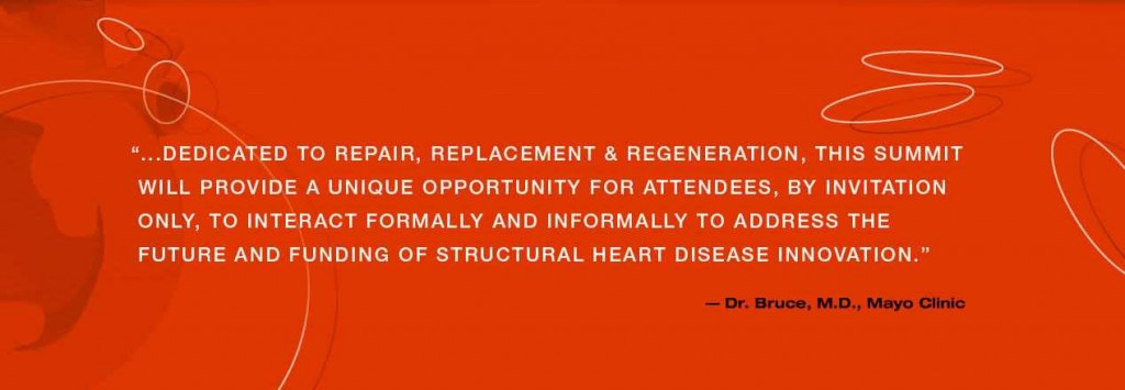 quote from Dr. Charles Bruce about heart summit