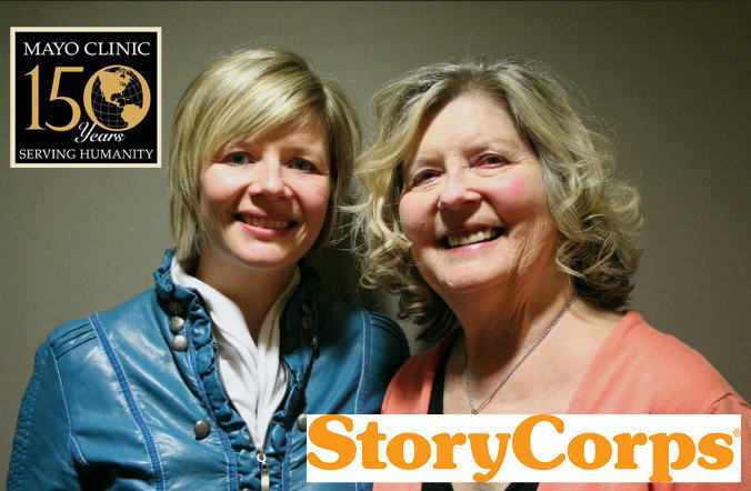 Susan and Kristy for StoryCorps