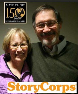 Len and Lindsay picture for StoryCorps