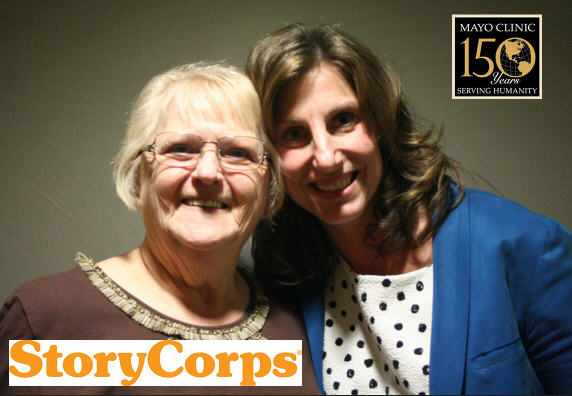 Lois McIntosh with daughter in law Dr. Amy McIntosh on StoryCorps