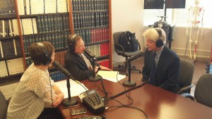 Dr. Ronald Petersen on radio show discussing Alzheimer's