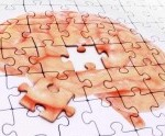 illustration of brain with piece missing