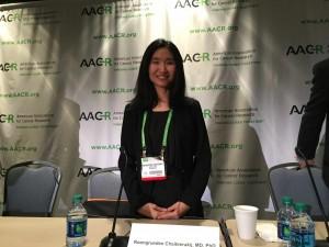 AACR 2015 Dr. Chaiteerakij