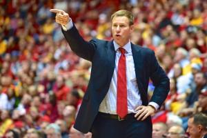 ISU basketball coach Fred Hoiberg