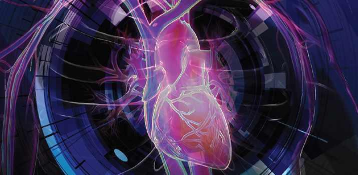 Imagen del panel de pruebas para el corazón