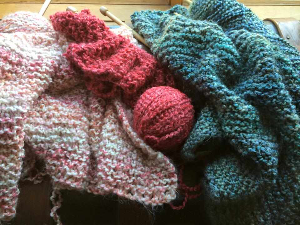 knitting projects, arts and crafts