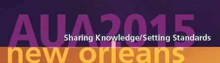 AUA annual meeting logo 2015