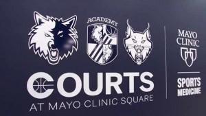 Mayo Clinic Square Courts logo