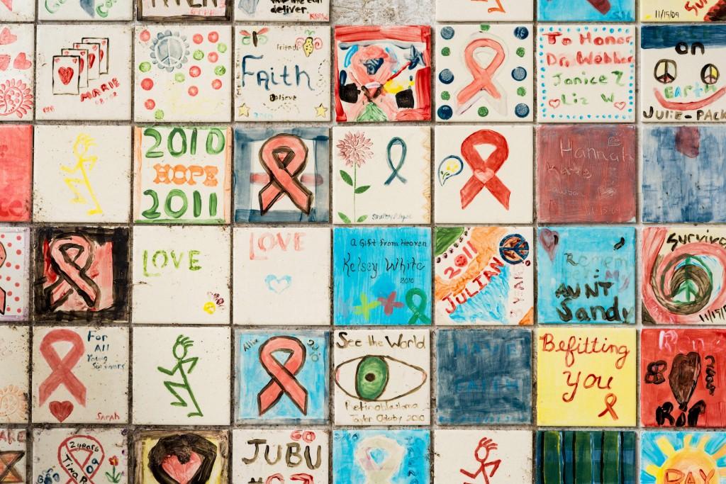 National Cancer Survivor Day quilt