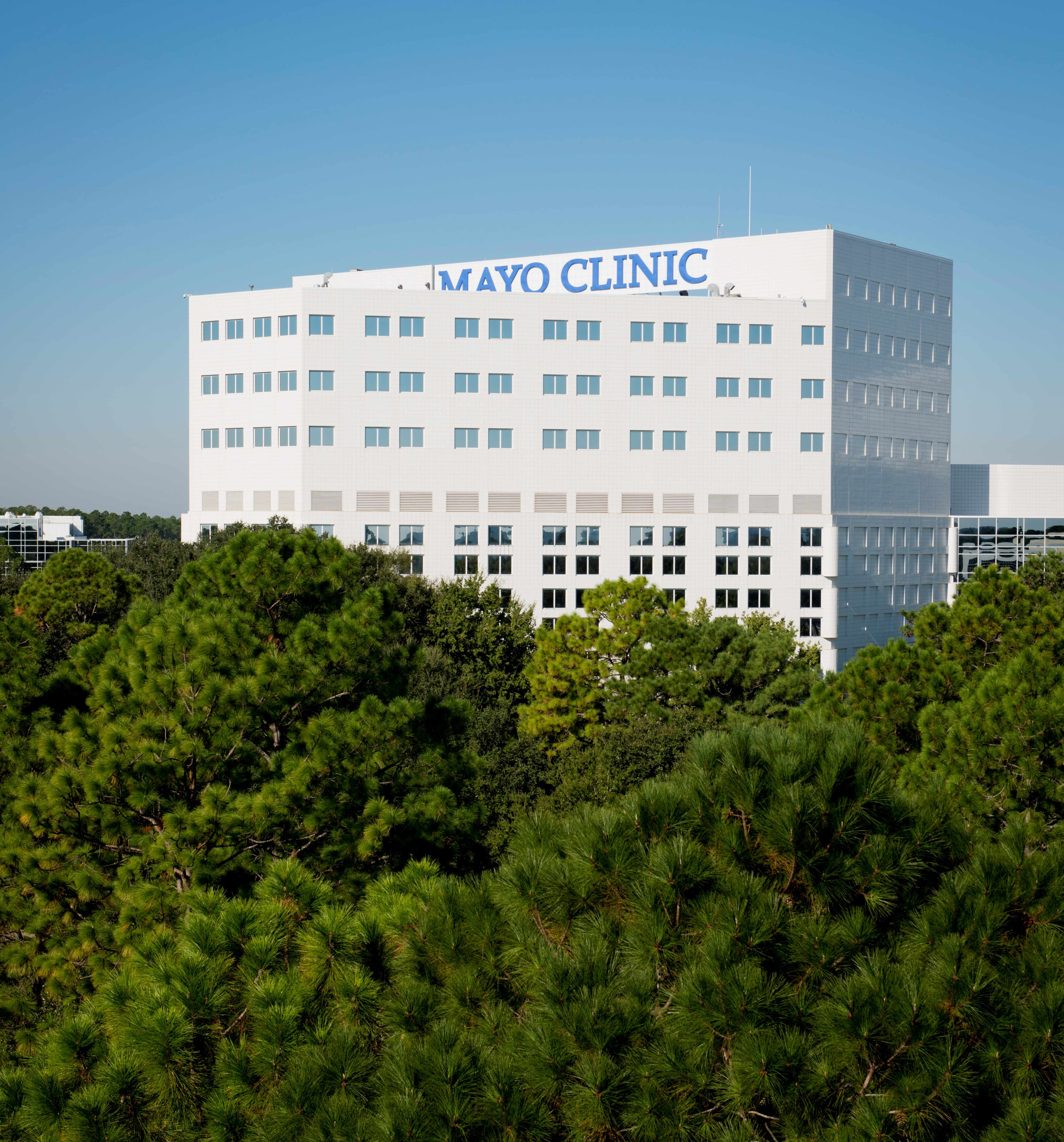 Mayo Clinic in Florida campus building