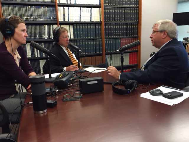 Dr. Brent Bauer being interviewed on Mayo Clinic Radio