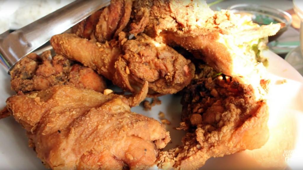 Screen Shot fried chicken
