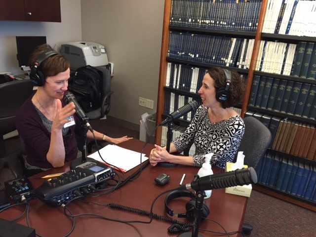 Tracy McCray and Dr. Dawn Davis co-hosting Mayo Clinic Radio
