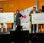 Winners: Andrey Ostrovsky, M.D. – Care at Hand, and Anne Weiler – Wellpepper