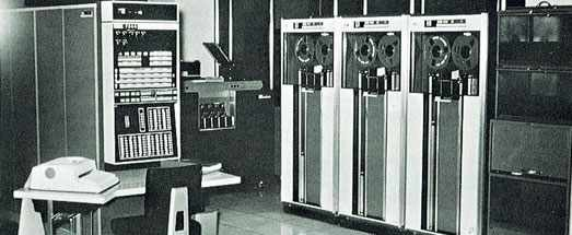 IBM 7040 computer1964