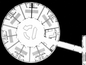 circle hospital floor plan