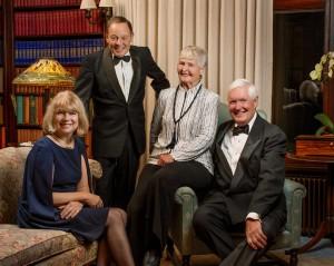 Recipients of the 2015 Mayo Clinic Distinguished Alumni Award: (left to right) Kristina Rother, M.D.; Bernard Gersh, M.B., Ch.B., D. Phil.; Audrey Nelson, M.D.; C. Garrison Fathman, M.D.