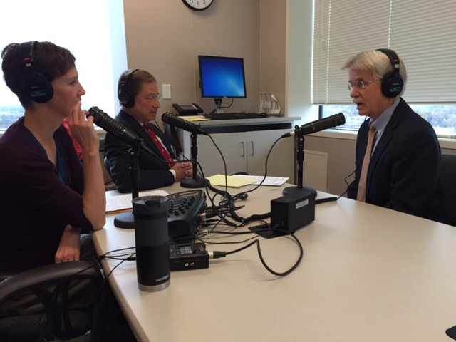 Dr. Ronald Petersen being interviewed on Mayo Clinic Radio