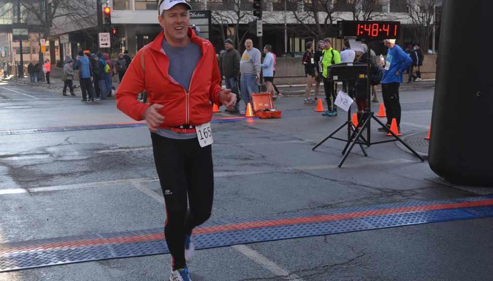 Michael Koetting running race
