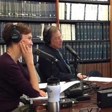 Dr. David Nestler being interviewed on Mayo Clinic Radio show