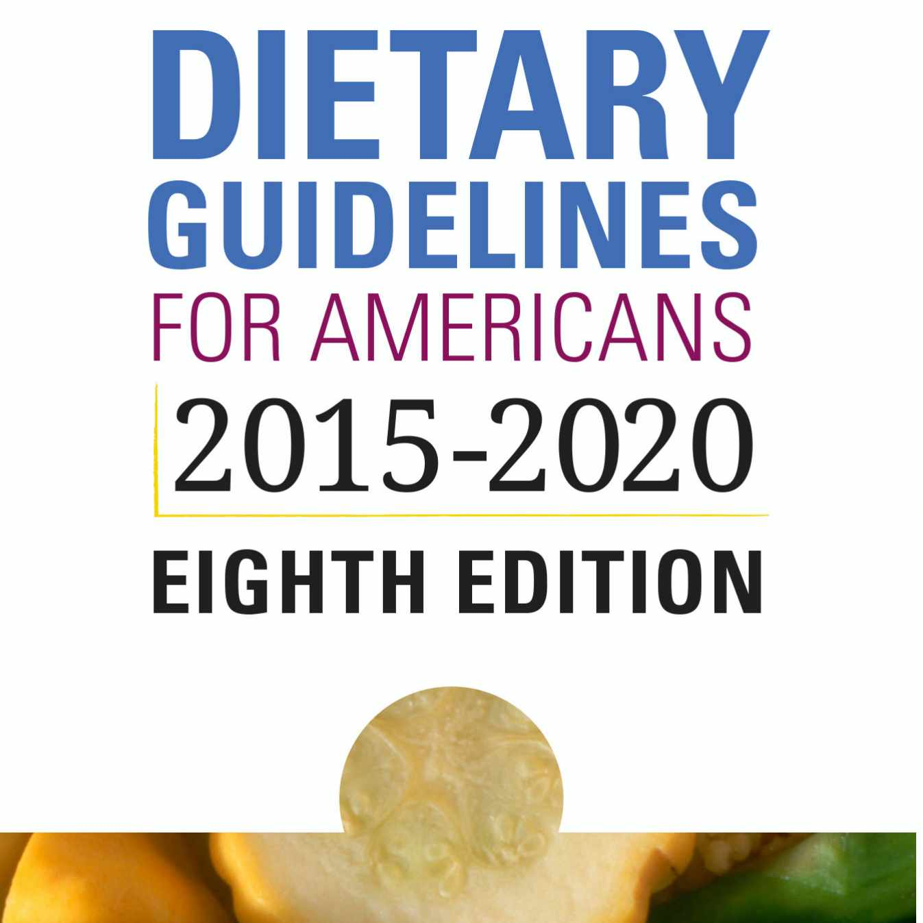 Dietary Guidelines For Americans graphic