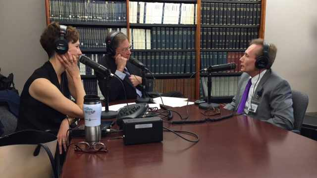 Dr. Michael Cutrer being interviewed on Mayo Clinic Radio
