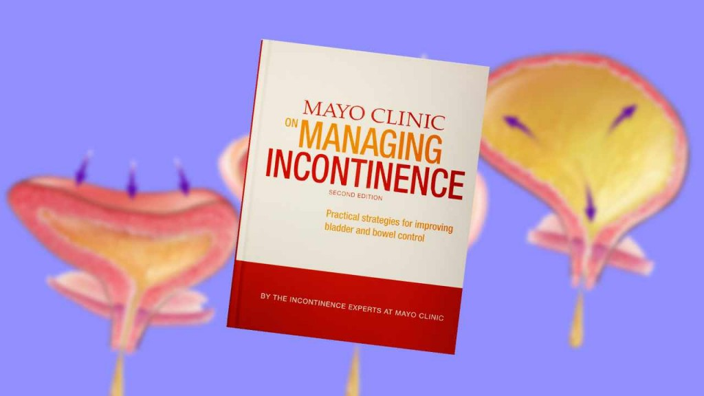 """book jacket of """"Mayo Clinic on Managing Incontinence"""""""