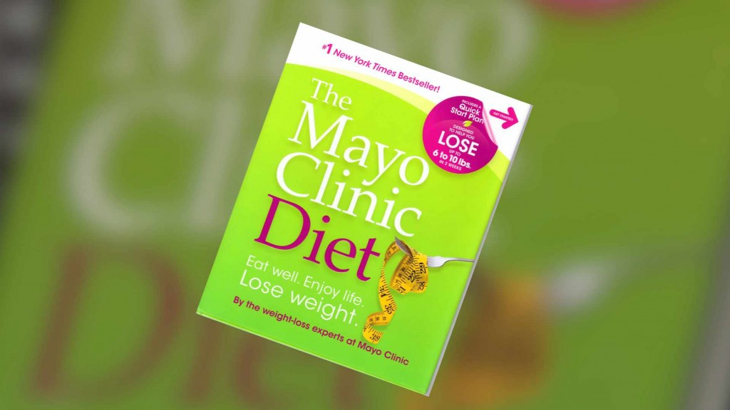 """""""The Mayo Clinic Diet"""" book"""