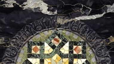 painted Plumber building marble 1981