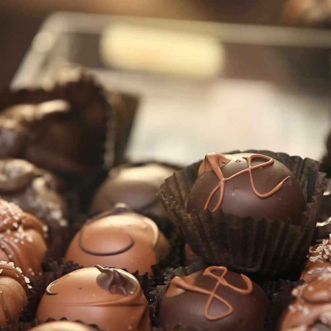 pieces of chocolates
