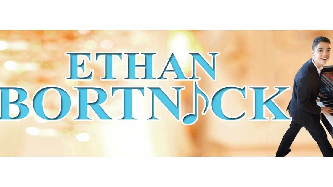 Image of Ethan Bortnick playing piano
