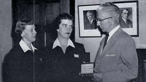 tour guides for 1958 Mayo Clinic patient tours 16X9