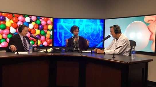 Dr. Mark Larson being interviewed on Mayo Clinic Radio