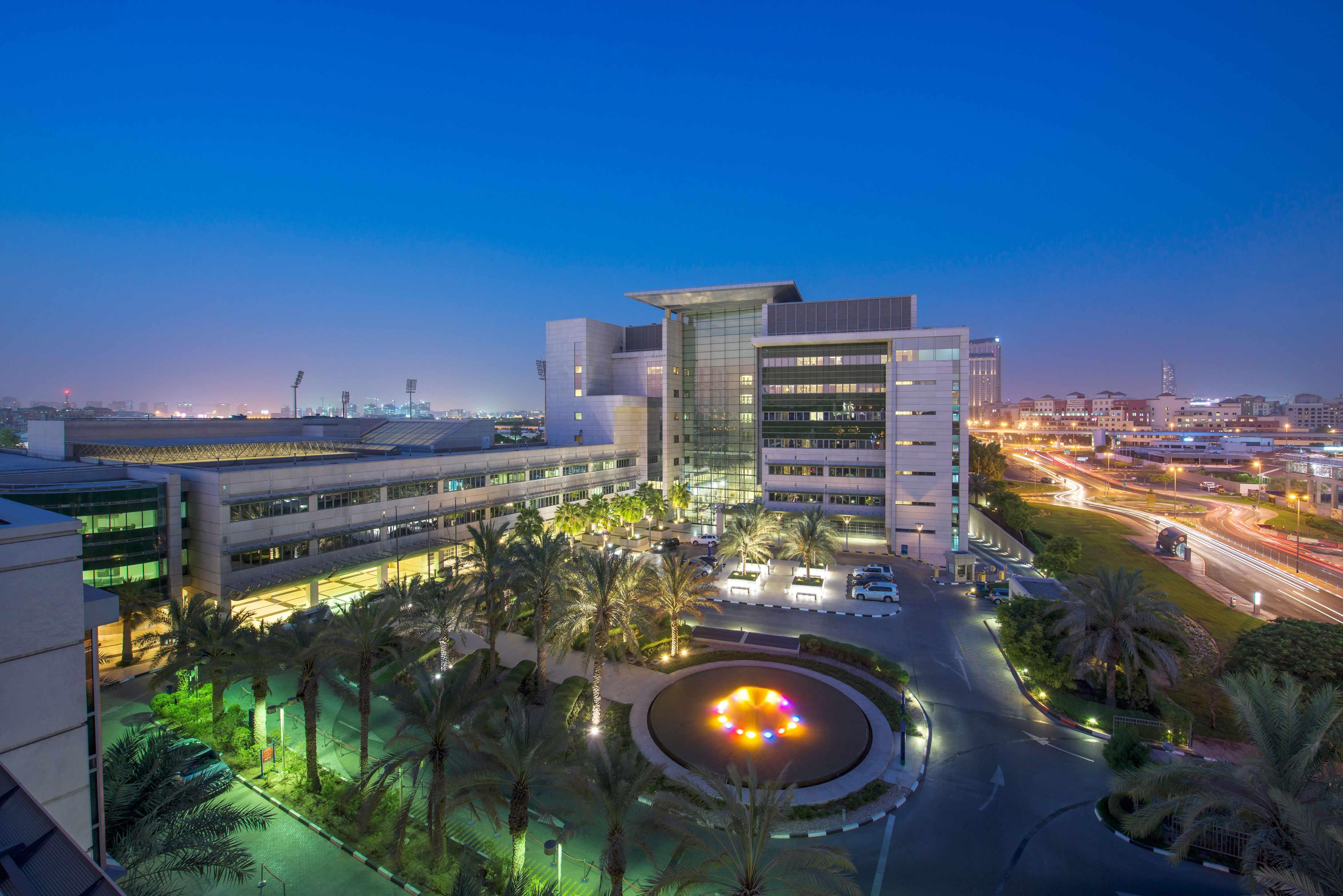 Foto del exterior del American Hospital Dubai
