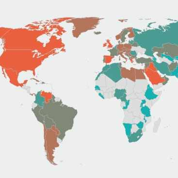 global map of obesity from World Obesity web site