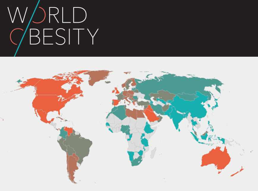 Mapa de la obesidad