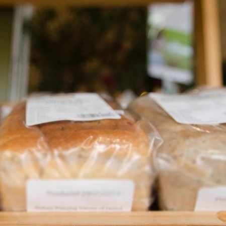 gluten-free breads at a bakery