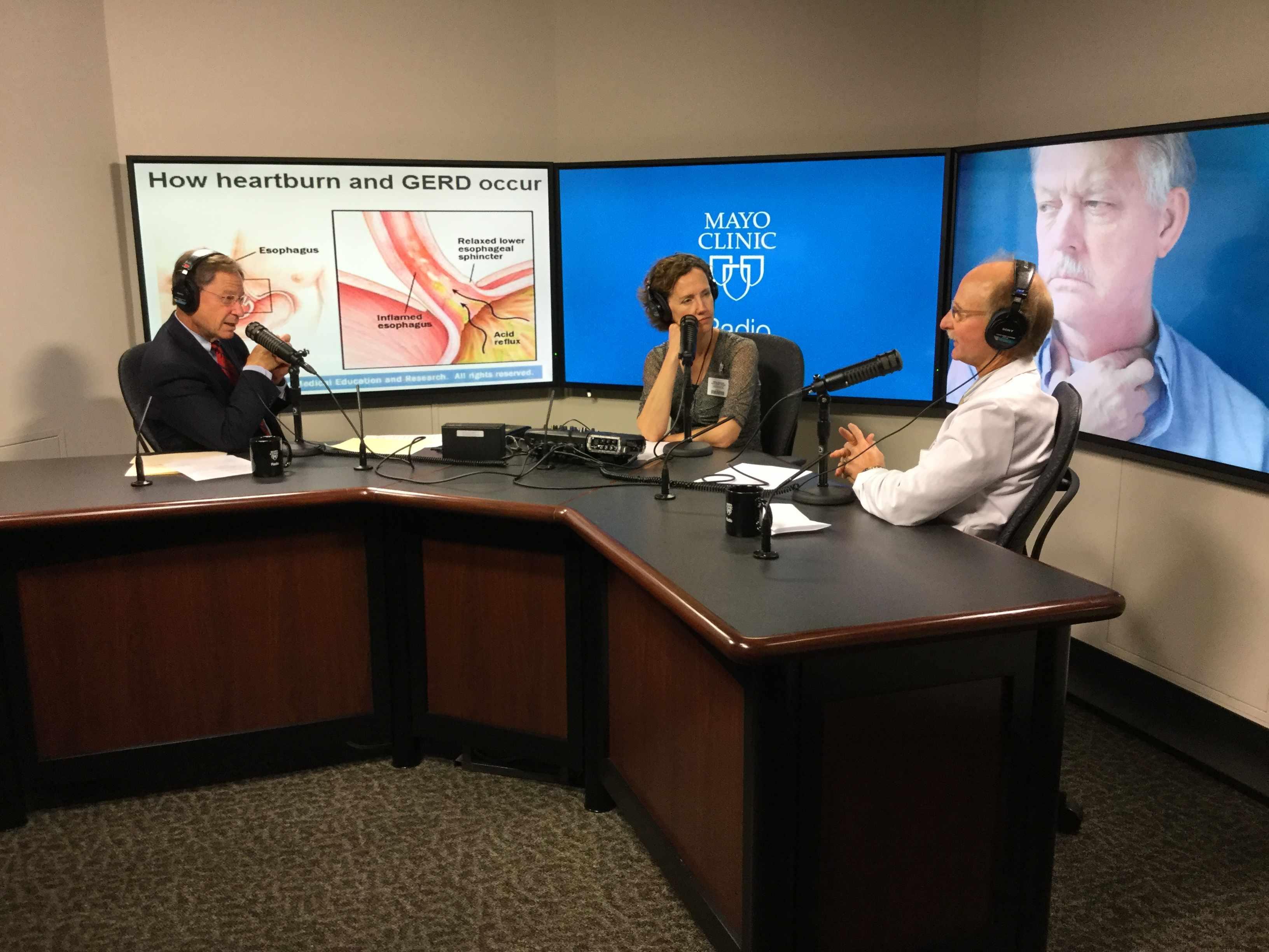 Dr. Jeffrey Alexander being interviewed on Mayo Clinic Radio