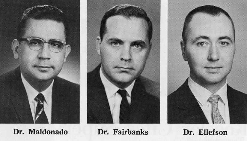 Drs. Maldonado, Fairbanks and Ellefson