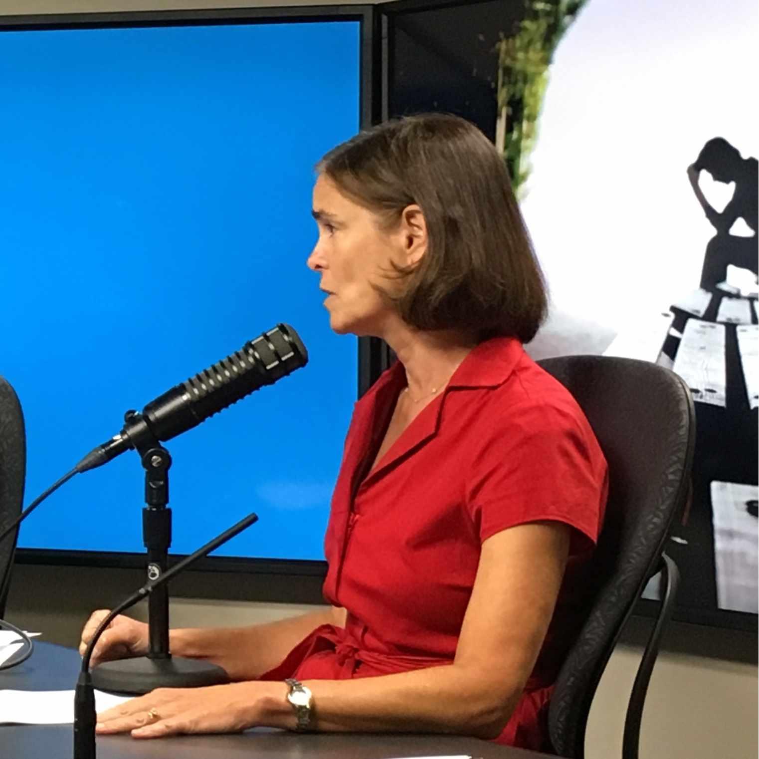 Dr. Teresa Rummans being interviewed on Mayo Clinic Radio