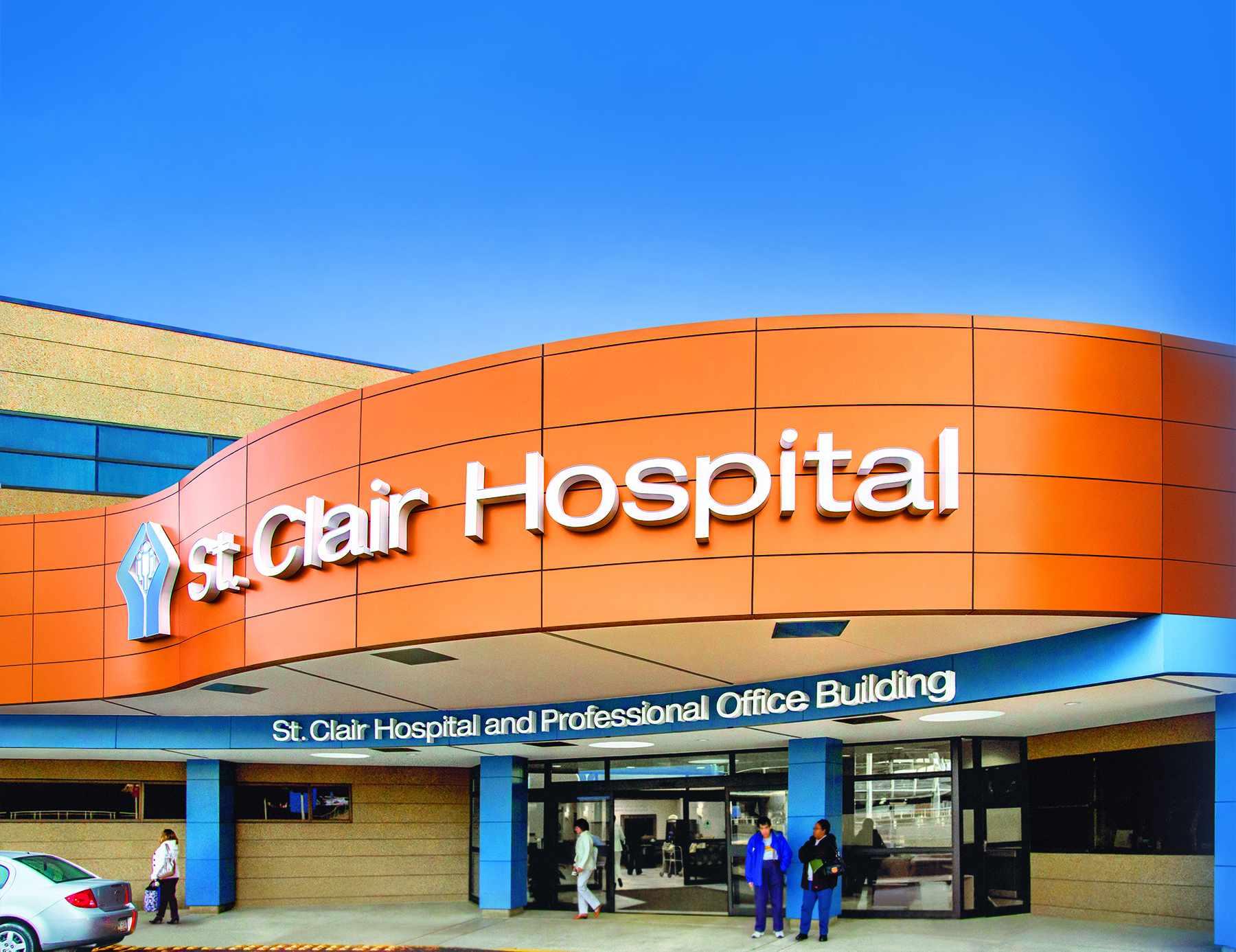 St. Clair Hospital entrance