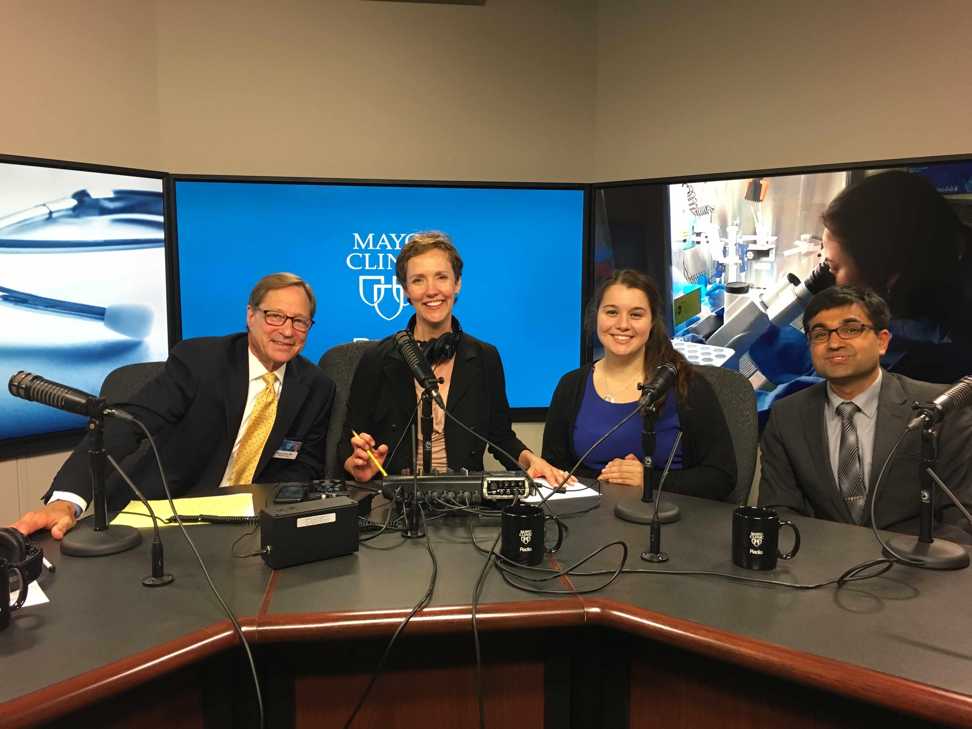 Dr. Sahil Khanna and Stephanie Bennett on Mayo Clinic Radio