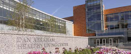 a 2007 photo of the new Dan Abraham Healthy Living Center