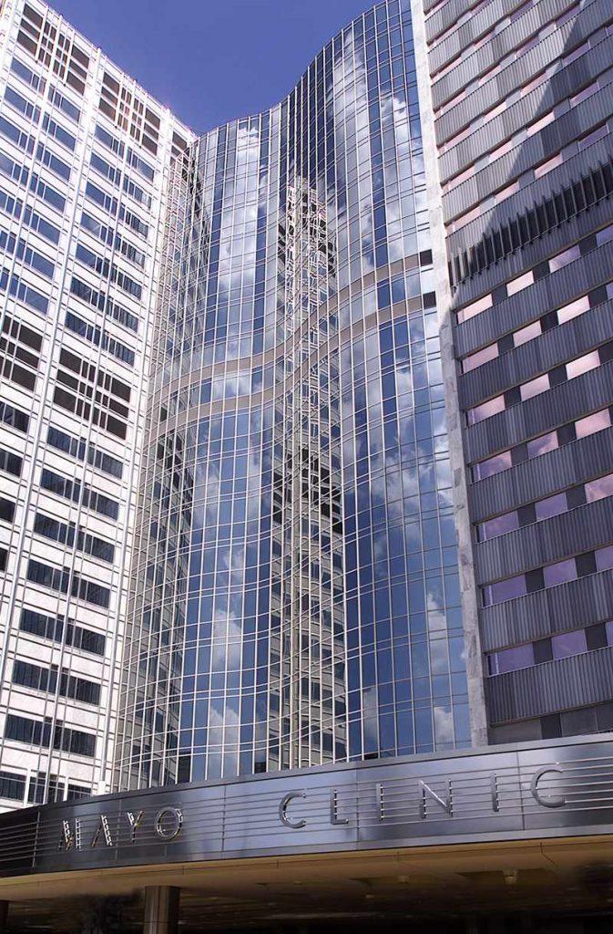 Gonda Building Entrance- Mayo Clinc Rochester