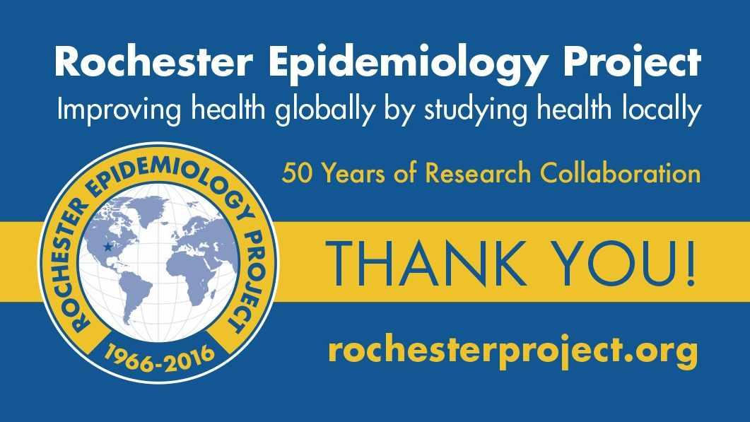 Proyecto Epidemiológico de Rochester