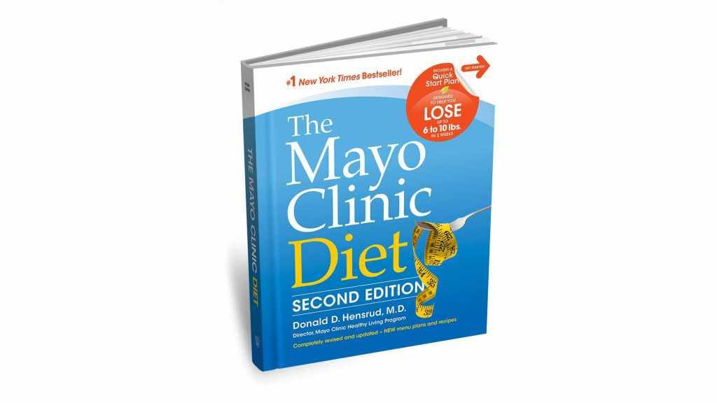 Cubierta de la segunda edición de la Dieta de Mayo Clinic
